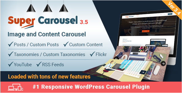 Super Carousel til WordPress