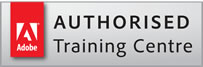 Adobe Authorised Training Partner. Logo.