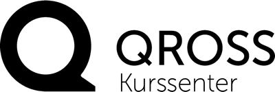 Qross Kurssenter AS. Logo.
