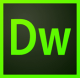 Adobe Dreamweaver. Logo.