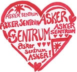 Asker Sentrum AS. Logo.