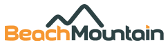 Beach Mountain AS. Logo.