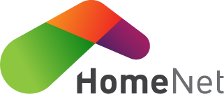 GlobalConnect AS avd. HomeNet. Logo.